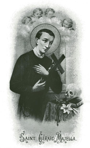 St. Gerard Holy Card